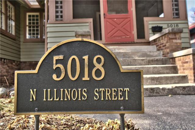 5018 N Illinois Street, Indianapolis, IN 46208 (MLS #21545505) :: Indy Scene Real Estate Team