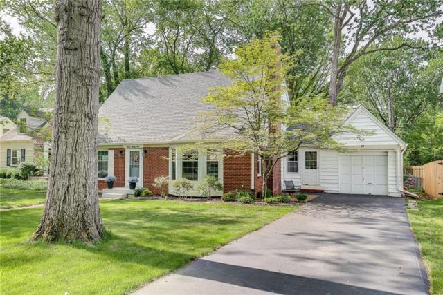 725 Nottingham Court, Indianapolis, IN 46240 (MLS #21566474) :: Indy Plus Realty Group- Keller Williams