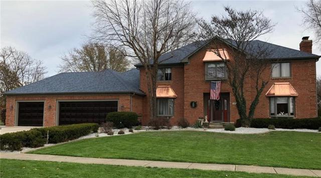 2177 Willow Lake Drive, Greenwood, IN 46143 (MLS #21567465) :: The Evelo Team