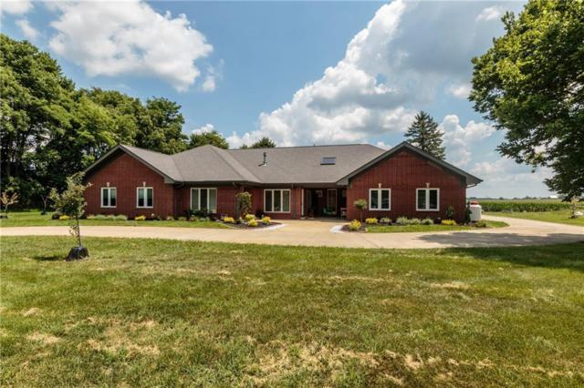 7227 N Lakeshore Drive, Greenfield, IN 46140 (MLS #21583073) :: Mike Price Realty Team - RE/MAX Centerstone