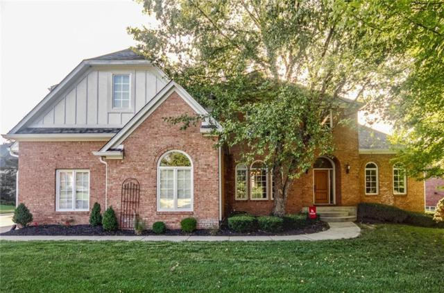 7117 Beaumont Court, Zionsville, IN 46077 (MLS #21590425) :: The Evelo Team