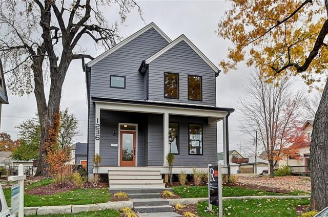 1236 E Ohio Street, Indianapolis, IN 46202 (MLS #21594032) :: The ORR Home Selling Team