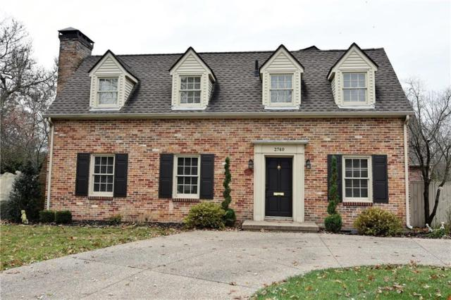 2740 Washington Street, Columbus, IN 47201 (MLS #21607622) :: Richwine Elite Group