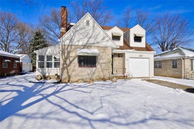 520 W 38th Street, Indianapolis, IN 46208 (MLS #21613474) :: Mike Price Realty Team - RE/MAX Centerstone