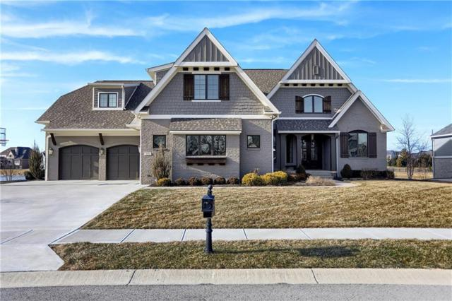 3850 Birkdale Drive, Carmel, IN 46033 (MLS #21614899) :: Richwine Elite Group