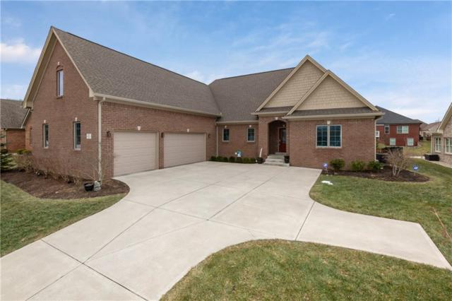 5593 Harness Drive, Greenwood, IN 46143 (MLS #21618356) :: The Evelo Team