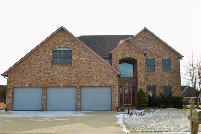 1035 White Oak Drive, Plainfield, IN 46168 (MLS #21618723) :: The Indy Property Source