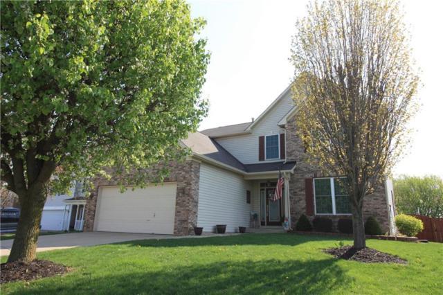 1471 Vinewood Drive, Greenwood, IN 46143 (MLS #21619047) :: Richwine Elite Group