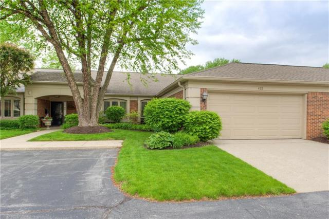 422 Bent Tree Lane #422, Indianapolis, IN 46260 (MLS #21622790) :: The Indy Property Source