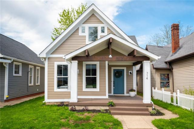 714 Terrace Avenue, Indianapolis, IN 46203 (MLS #21631714) :: AR/haus Group Realty