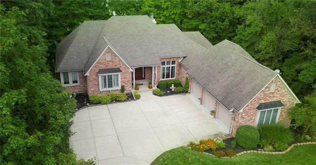 3912 Knoll Wood Lane, Anderson, IN 46011 (MLS #21645736) :: David Brenton's Team