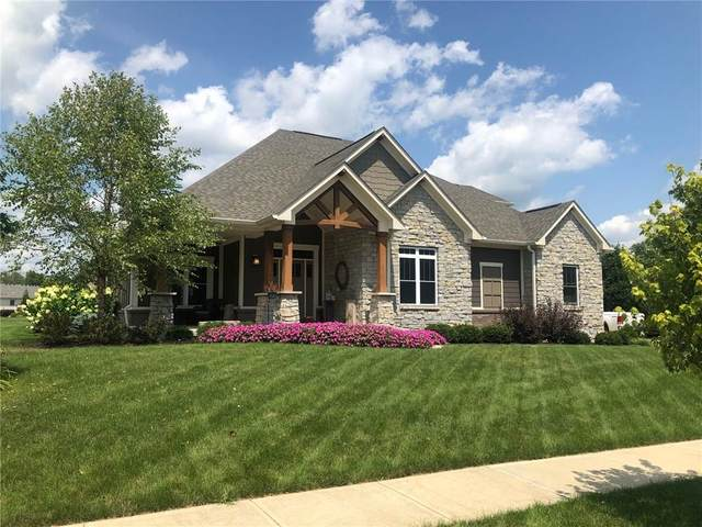 4364 W Lookout Pass, New Palestine, IN 46163 (MLS #21666119) :: Anthony Robinson & AMR Real Estate Group LLC
