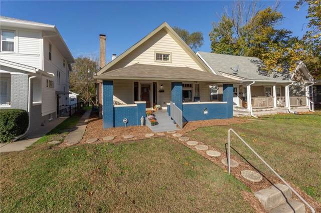 4014 Rookwood Avenue, Indianapolis, IN 46208 (MLS #21676545) :: AR/haus Group Realty