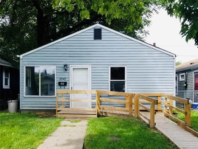 2040 S Laurel Street, Indianapolis, IN 46203 (MLS #21690901) :: Anthony Robinson & AMR Real Estate Group LLC