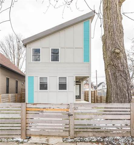 829 S Randolph Street, Indianapolis, IN 46203 (MLS #21691429) :: The Evelo Team