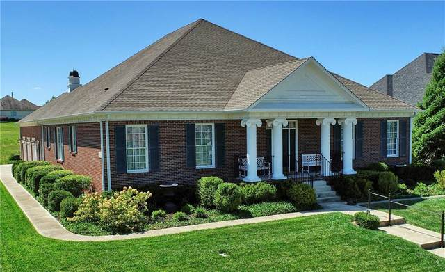 2888 Cromwell Court, Greenwood, IN 46143 (MLS #21694077) :: Realty ONE Group Dream
