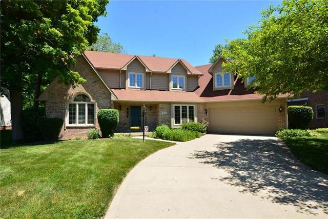 8763 Bay Pointe Circle, Indianapolis, IN 46236 (MLS #21699329) :: The Indy Property Source