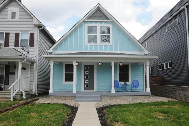 2118 Woodlawn Avenue, Indianapolis, IN 46203 (MLS #21705563) :: The Evelo Team
