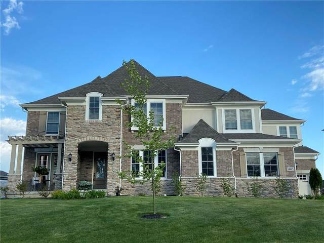 14445 Overbrook Drive, Carmel, IN 46074 (MLS #21708046) :: AR/haus Group Realty