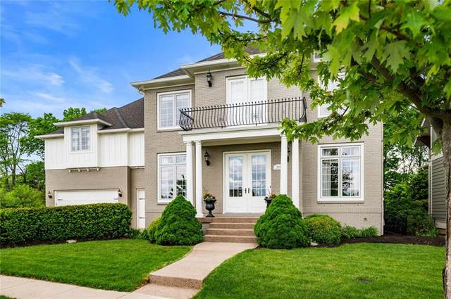 7600 Windsor Drive, Zionsville, IN 46077 (MLS #21708765) :: The Evelo Team