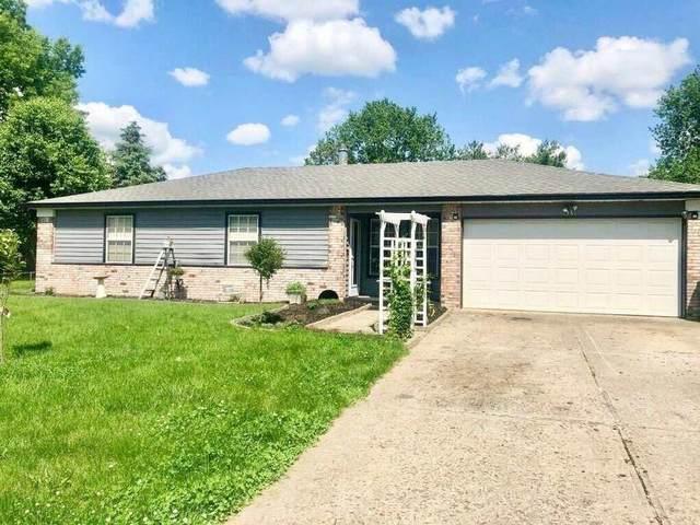 429 Pleasantview Boulevard, Greenwood, IN 46142 (MLS #21710616) :: The ORR Home Selling Team