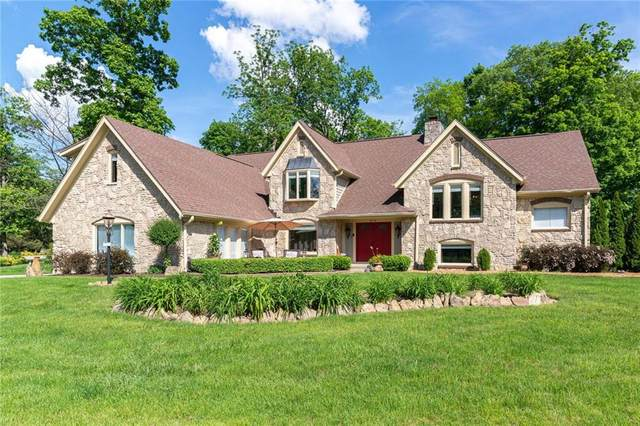 9315 Seascape Drive, Indianapolis, IN 46256 (MLS #21711492) :: Anthony Robinson & AMR Real Estate Group LLC