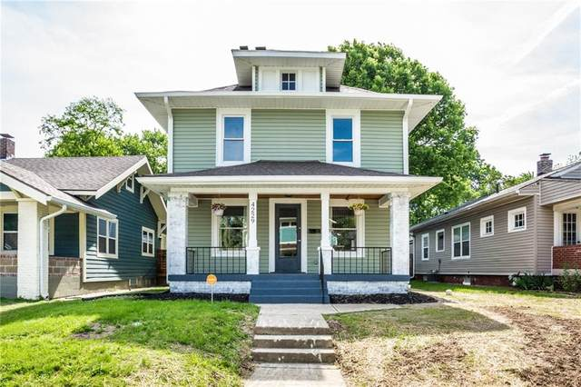 4229 N Carrollton Avenue, Indianapolis, IN 46205 (MLS #21716084) :: AR/haus Group Realty