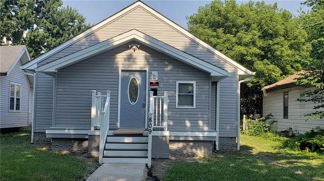 809 N Tuxedo, Indianapolis, IN 46201 (MLS #21719954) :: Realty ONE Group Dream
