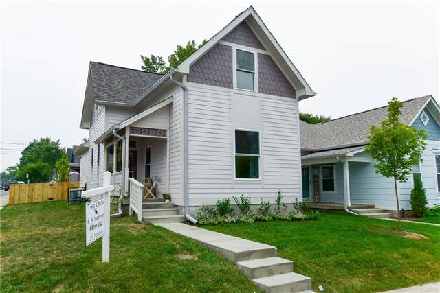 115 E Palmer Street, Indianapolis, IN 46225 (MLS #21728228) :: The Evelo Team