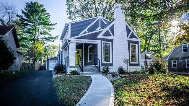 319 W 46th Street, Indianapolis, IN 46208 (MLS #21728393) :: The Evelo Team