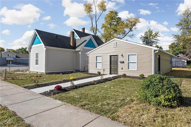 314 N Chester Avenue, Indianapolis, IN 46201 (MLS #21731643) :: David Brenton's Team