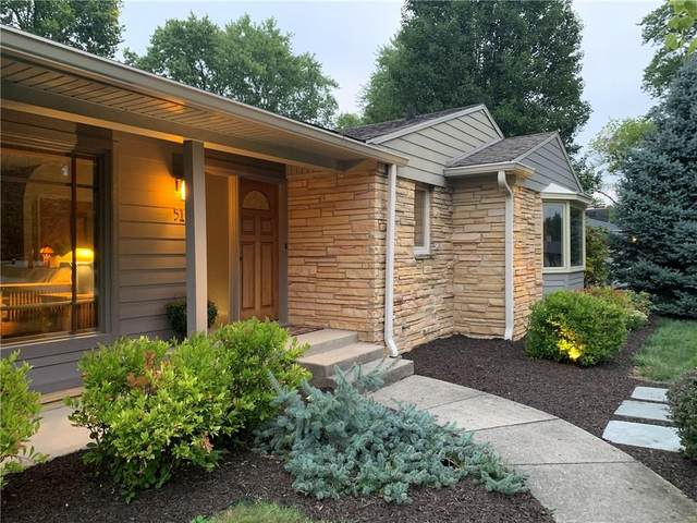 512 Oakwood Drive, Indianapolis, IN 46260 (MLS #21736562) :: Anthony Robinson & AMR Real Estate Group LLC