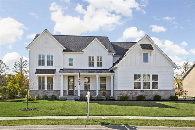 1193 Windsor Estates Court, Westfield, IN 46074 (MLS #21739521) :: Mike Price Realty Team - RE/MAX Centerstone
