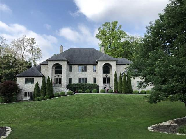 410 Breakwater Drive, Fishers, IN 46037 (MLS #21739955) :: The Indy Property Source