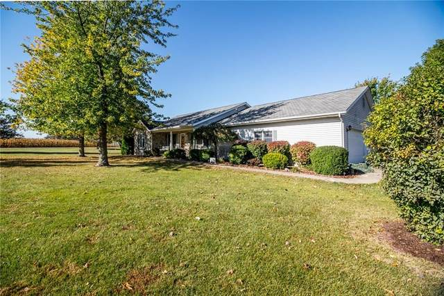 1385 S Airport Rd, Rushville, IN 46173 (MLS #21740470) :: The ORR Home Selling Team