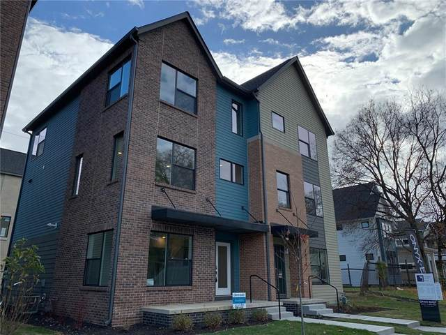 1813 New Jersey Street, Indianapolis, IN 46202 (MLS #21744335) :: The Evelo Team