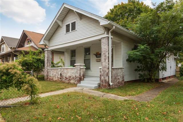 319 N Bosart Avenue, Indianapolis, IN 46201 (MLS #21748341) :: The Evelo Team