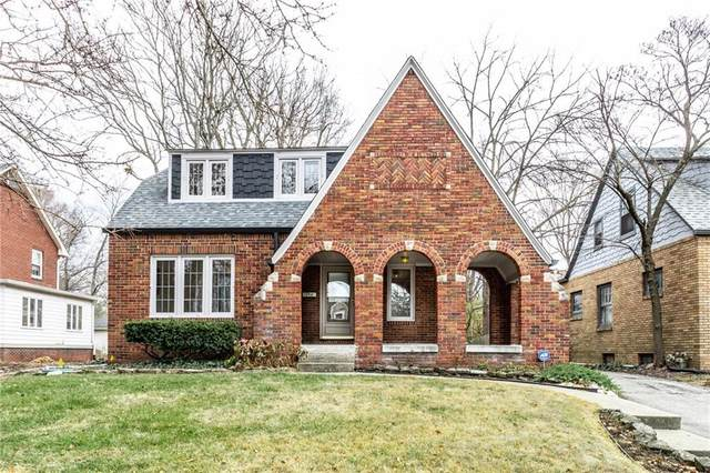 5505 N Illinois Street, Indianapolis, IN 46208 (MLS #21754695) :: Realty ONE Group Dream