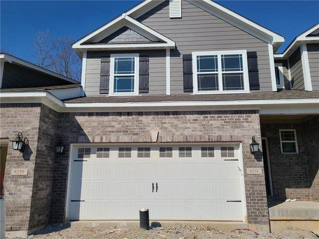 8258 Glacier Ridge Drive, Fishers, IN 46038 (MLS #21756301) :: Anthony Robinson & AMR Real Estate Group LLC