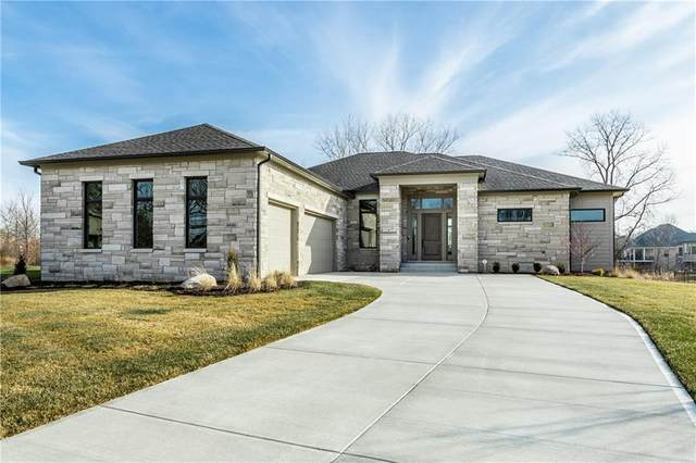 9899 Fiddlers Court, Carmel, IN 46032 (MLS #21760130) :: The Evelo Team
