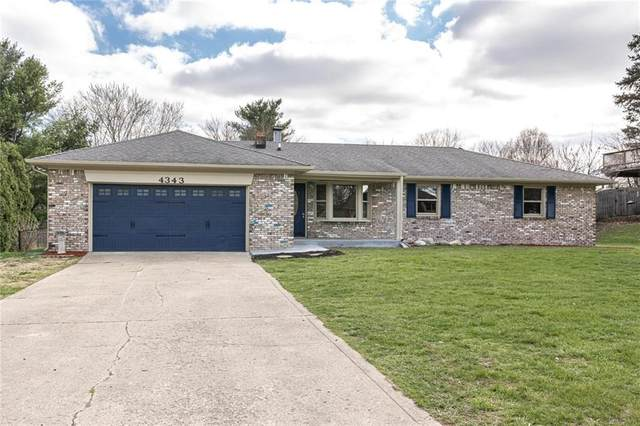 4343 W Fairview Road, Greenwood, IN 46142 (MLS #21762898) :: The Indy Property Source