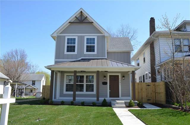 1241 Tecumseh Street, Indianapolis, IN 46201 (MLS #21763450) :: The Indy Property Source