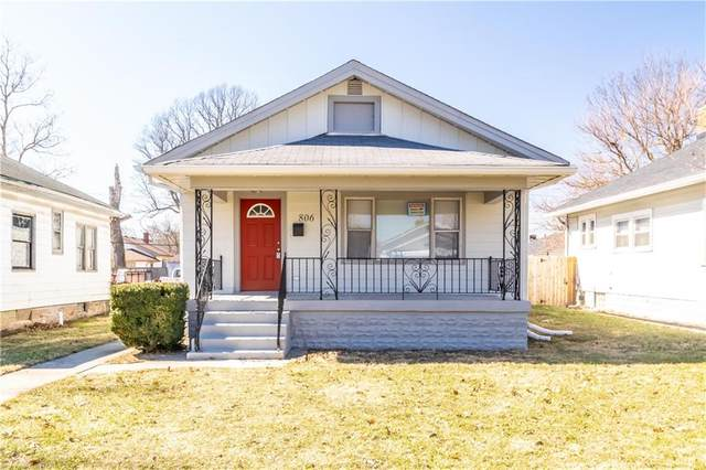 806 N Linwood Avenue, Indianapolis, IN 46201 (MLS #21765154) :: Anthony Robinson & AMR Real Estate Group LLC