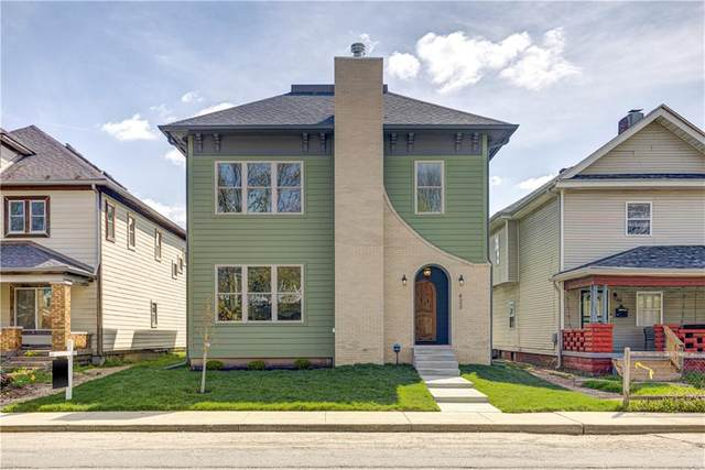 423 N State Avenue, Indianapolis, IN 46201 (MLS #21768899) :: RE/MAX Legacy