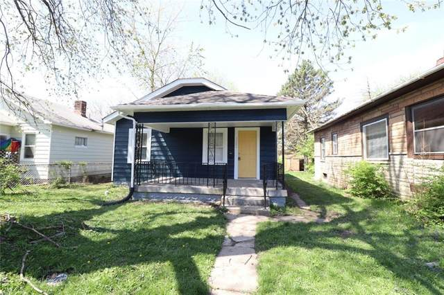 1502 N Grant Avenue, Indianapolis, IN 46201 (MLS #21769208) :: Heard Real Estate Team | eXp Realty, LLC