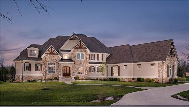 13 Lost Run Trail, Zionsville, IN 46077 (MLS #21775574) :: David Brenton's Team