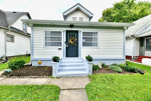 4060 Graceland Avenue, Indianapolis, IN 46208 (MLS #21787445) :: The Evelo Team