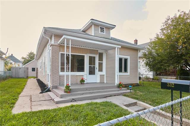 332 S Walcott Street, Indianapolis, IN 46201 (MLS #21791801) :: The Evelo Team