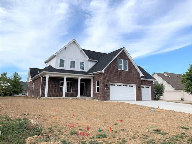 1160 Cobblefield Way, Greenfield, IN 46140 (MLS #21794628) :: The Indy Property Source