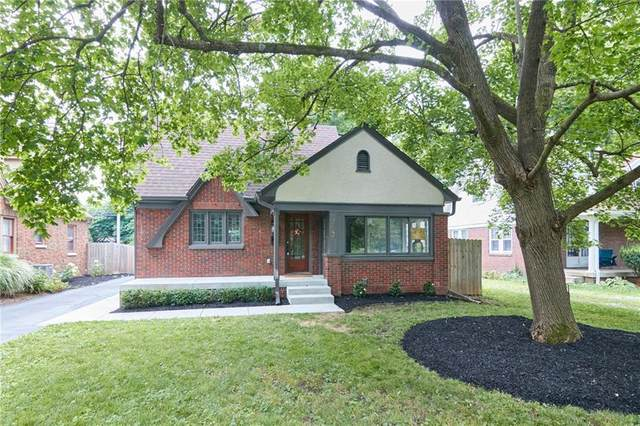 363 E Westfield Boulevard, Indianapolis, IN 46220 (MLS #21796349) :: The Indy Property Source